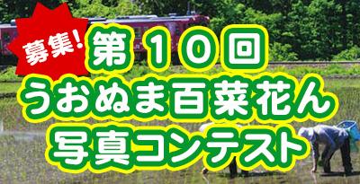 うおぬま百菜花ん「美しい魚沼」写真コンテスト作品募集!!