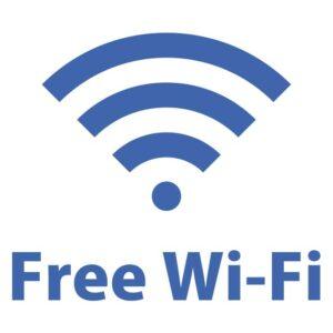 会館内はFree Wi-Fiをご利用いただけます